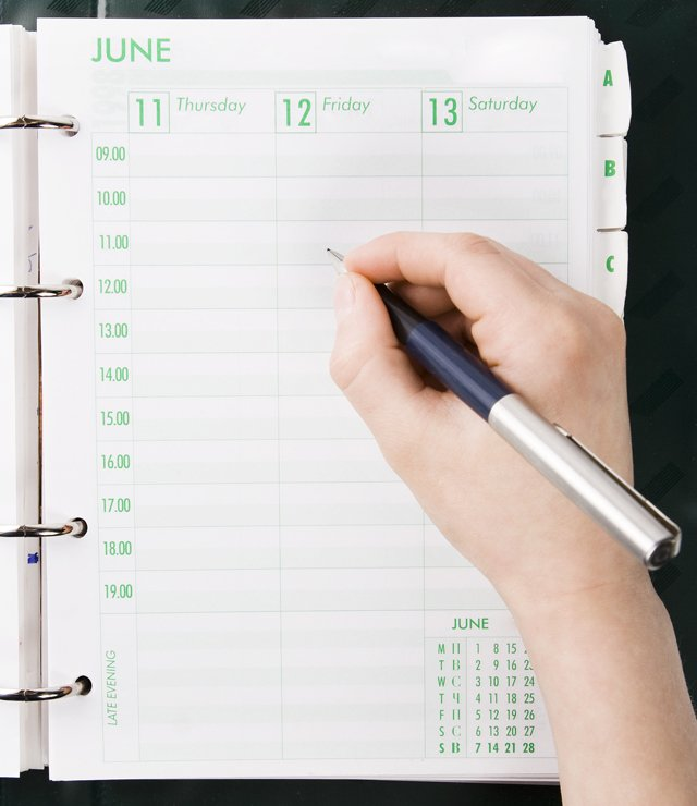 Using a diary to record your allergy symptoms