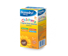 BENADRYL® Allergy Children's 1mg/ml Oral Solution