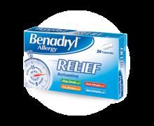 BENADRYL® Allergy Relief