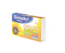 BENADRYL® Allergy One A Day 10mg Tablets