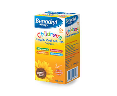 BENADRYL® Children's 2+ Allergy Relief 1