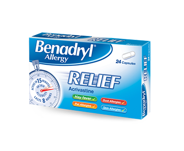 BENADRYL® Allergy Relief