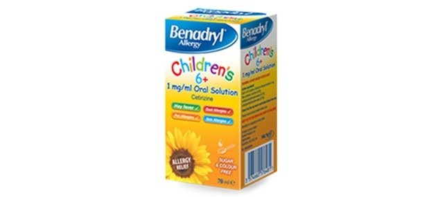 BENADRYL® Children's 6+