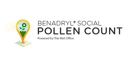 Benadryl Social Pollen Count - live pollen updates