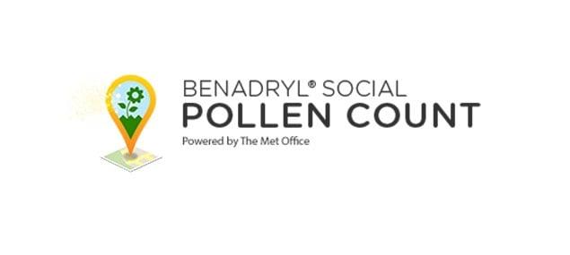 BENADRYL® Social Pollen Count